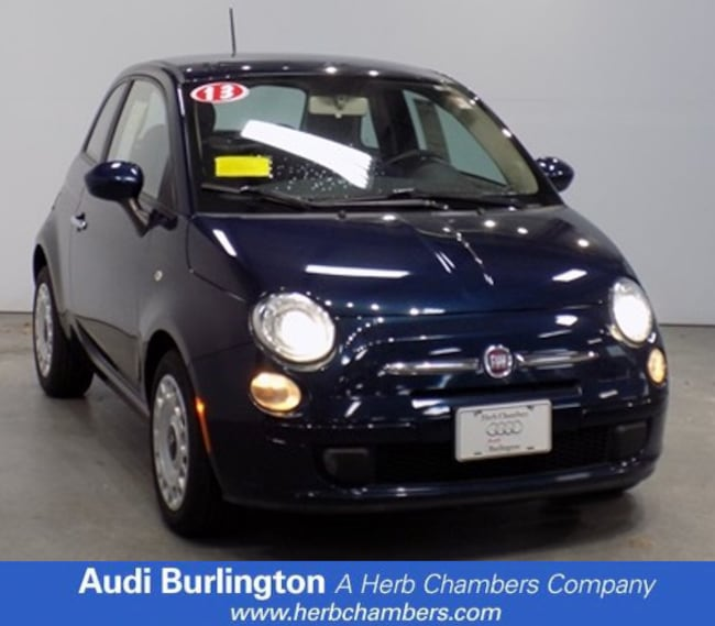 Used 2013 FIAT 500 POP Hatchback for sale in Boston, MA
