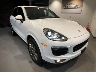 Used luxury cars 2018 Porsche Cayenne Platinum Edition SUV P5688 for sale near you in Boston, MA