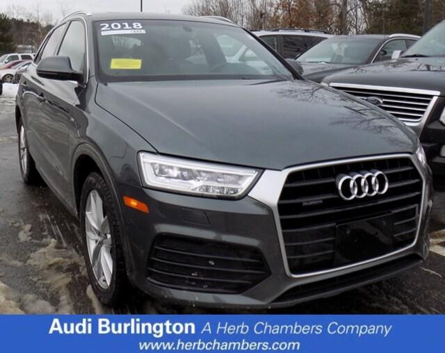Used 2018 Audi Q3 Premium Plus SUV Burlington MA
