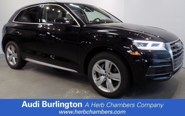 New 2018 Audi Q5 2.0T Premium Plus SUV Burlington MA