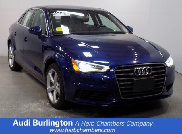 Used 2015 Audi A3 2.0T Premium Sedan Burlington MA