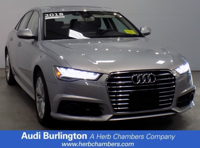 Used 2018 Audi A6 Premium Plus Sedan Burlington MA