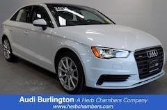 Used 2016 Audi A3 2.0T Premium Sedan Burlington MA