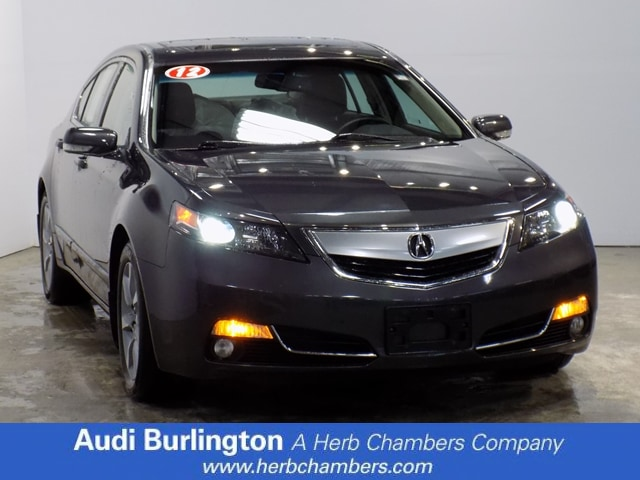 Used 2012 Acura TL Tech Auto Sedan Burlington MA