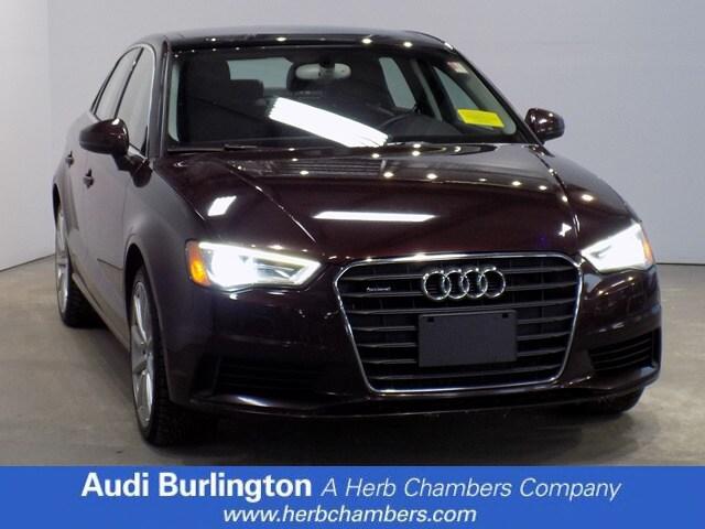 Used 2015 Audi A3 2.0T Premium Plus Sedan Burlington MA