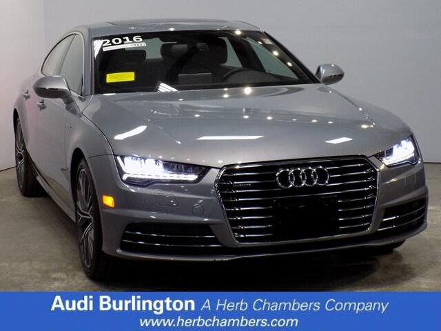 Used 2016 Audi A7 3.0 Premium Plus Sedan Burlington MA