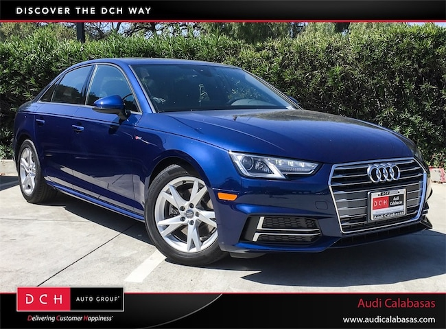 New Audi A Sedan T Ultra Premium Scuba Blue Metallic For - Audi a4 2018