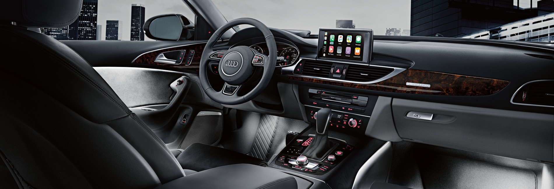 Audi A6 Interior Vehicle Features