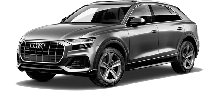 New 2019 Audi Q8 at Audi Calabasas