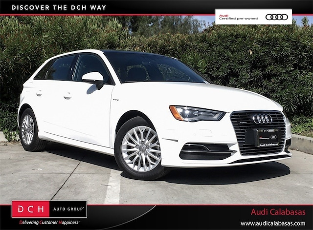 Certified Pre-Owned 2016 Audi A3 e-tron 1.4T Premium Sportback for sale in Calabasas