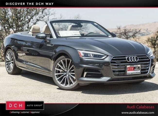 New 2018 Audi A5 2.0T Premium Plus Cabriolet