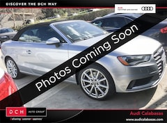 Certified Pre-Owned 2015 Audi A3 2.0T Premium (S tronic) Cabriolet for sale in Calabasas