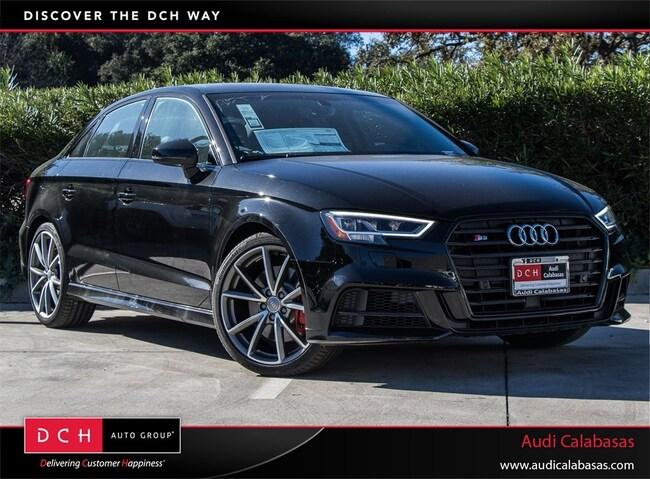 New 2018 Audi S3 2.0T Premium Plus Sedan