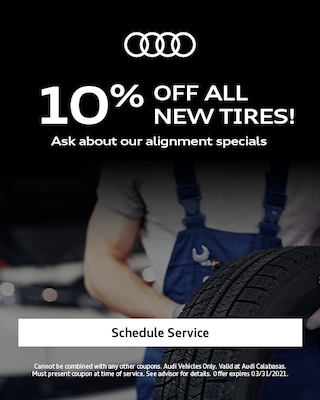 10% off all new tires