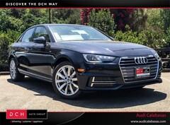 New Audi Lease & Finance Offers 2018 Audi A4 2.0T ultra Premium Sedan in Calabasas, CA