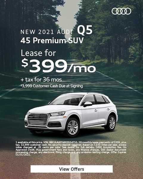 2021 Audi Q5 - $399