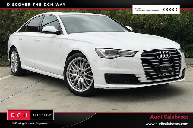 Certified Pre-Owned 2016 Audi A6 2.0T Premium Sedan for sale in Calabasas