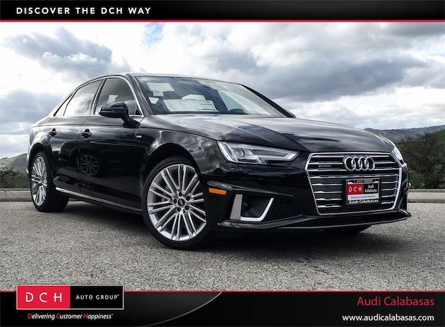 New Audi Lease & Finance Offers 2019 Audi A4 2.0T Premium Plus Sedan in Calabasas, CA