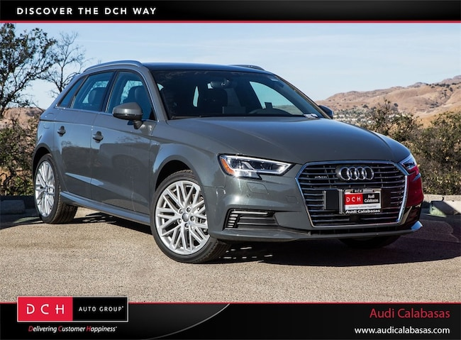 new 2018 audi a3 e tron hatchback 1 4t premium plus nano gray metallic for sale in calabasas ca. Black Bedroom Furniture Sets. Home Design Ideas