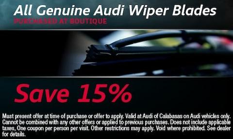 All Genuine Audi Wiper Blades