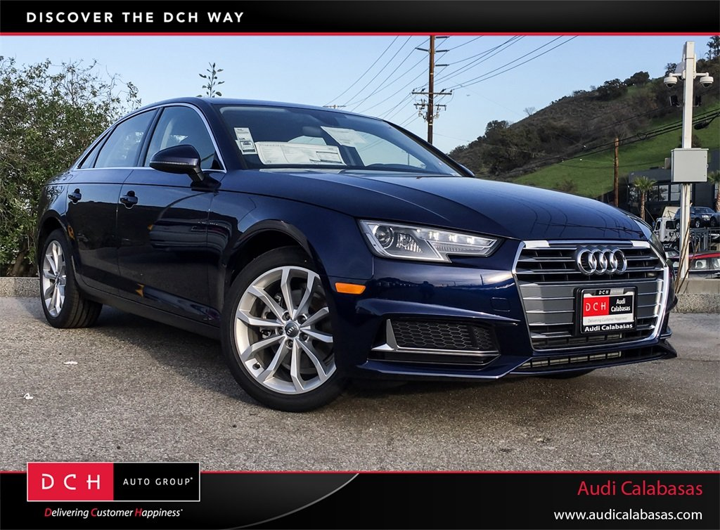 New 2019 Audi A4 Sedan 20t Premium Navarra Blue Metallic For Sale