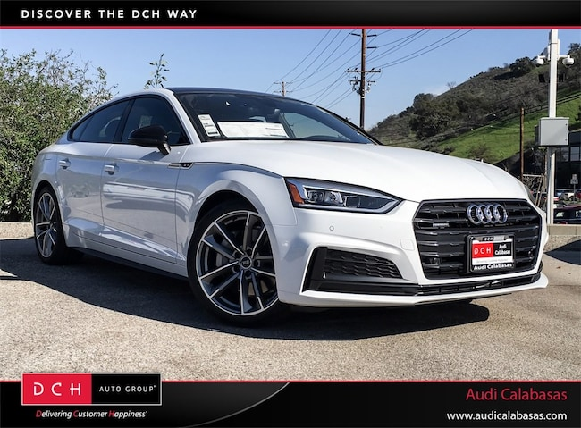New 2019 Audi A5 20t Premium Plus Sportback Glacier White Metallic
