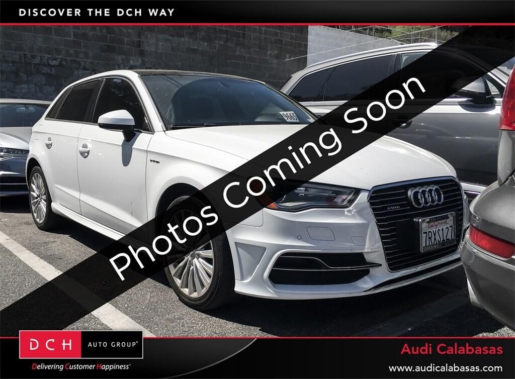 Used 2016 Audi A3 E Tron Sportback 14t Premium Ibis White For Sale