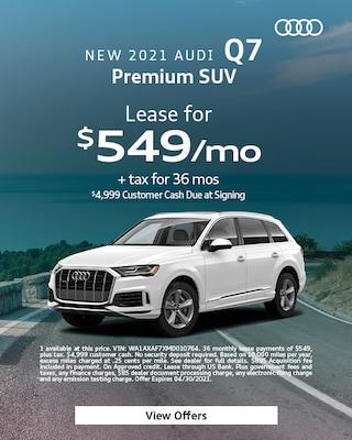 New 2021 Audi Q7 Premium SUV