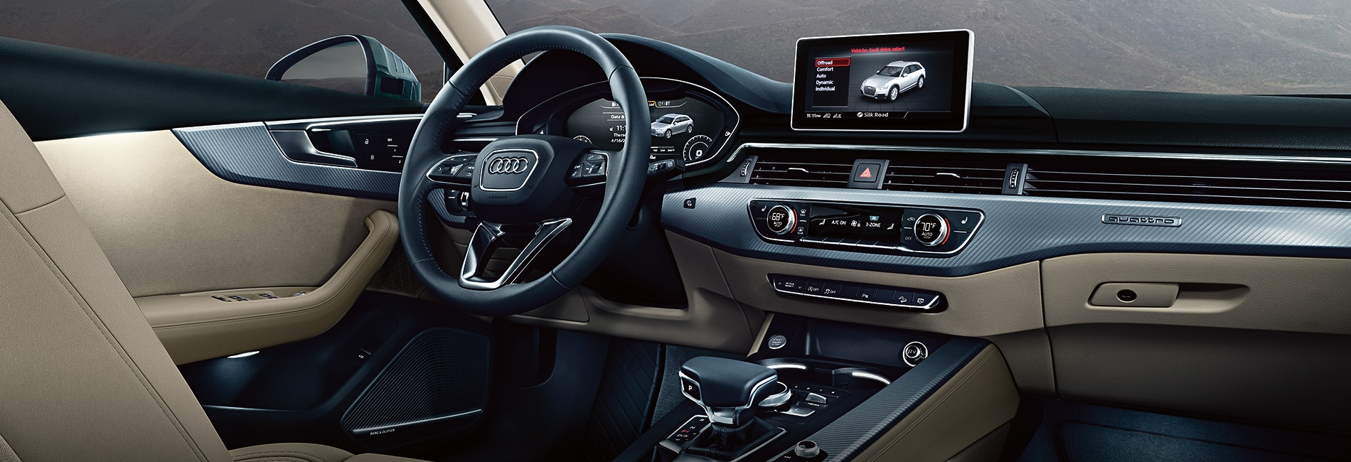 Audi A4 Interior Vehicle Features