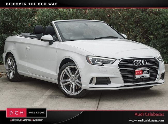 New 2018 Audi A3 2.0T Cabriolet