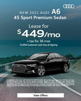 New 2021 Audi A6 45 Sport Premium Sedan