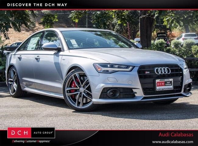 New 2018 Audi S6 4.0T Premium Plus Sedan