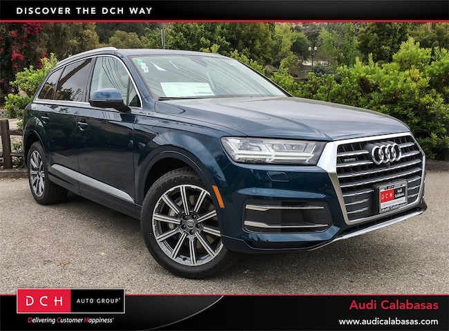 New Audi Q SUV T Premium Plus Galaxy Blue Metallic For Sale - 2018 audi q7