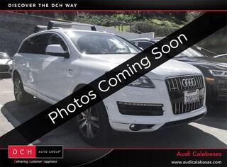 Used 2015 Audi Q7 3.0T Premium (Tiptronic) SUV for sale in Calabasas