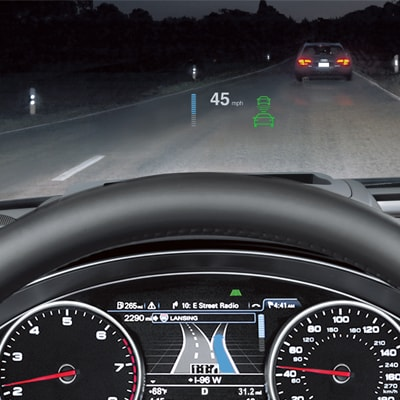 Audi A6 Standard Safety Features