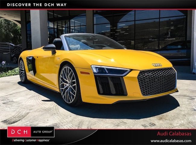 New Audi R Spyder V Plus Vegas Yellow Black Roof For - Audi r8 black