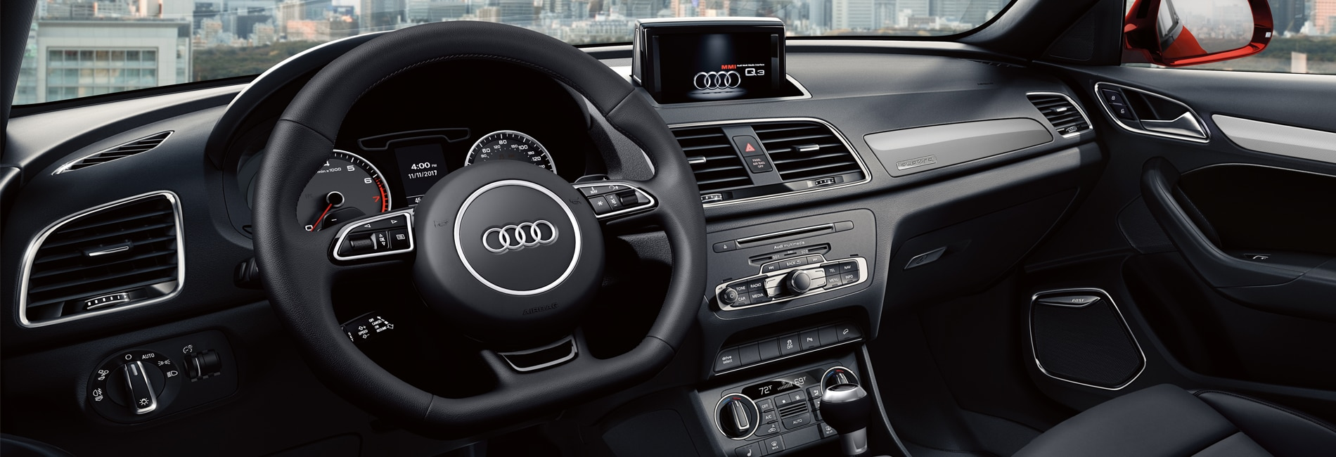 Audi Q3 Interior Vehicle Features