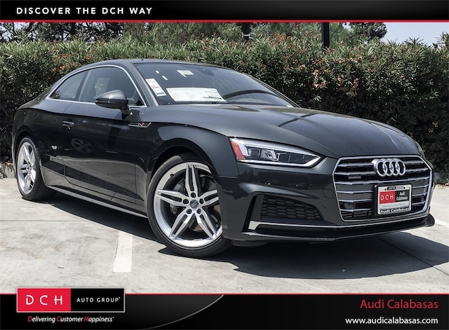 New Audi Lease & Finance Offers 2018 Audi A5 2.0T Premium Plus Coupe in Calabasas, CA