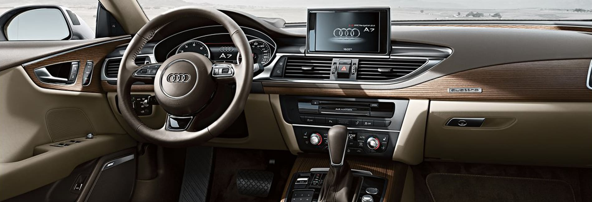 Audi A7 Interior Vehicle Features