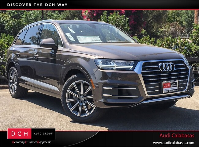 2018 Audi Q7 Brown Interior
