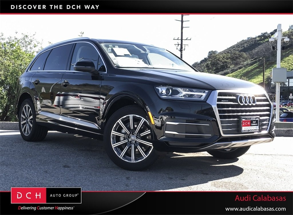 New 2019 Audi Q7 Suv 20t Premium Night Black For Sale In Calabasas