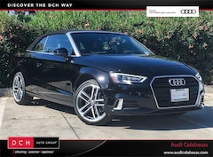 Certified Pre-Owned 2017 Audi A3 2.0T Premium Cabriolet for sale in Calabasas