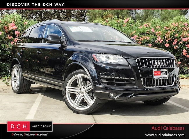 Used Audi Q SUV T Premium Tiptronic Orca Black Metallic - Used cars for sale audi q7