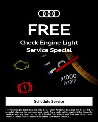 FREE Check Engine Light Special