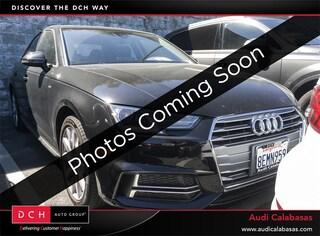 Used 2018 Audi A4 2.0T ultra Premium Sedan for sale in Calabasas