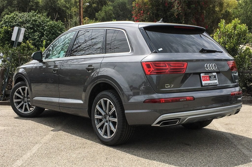 New 2019 Audi Q7 SUV 3 0T Premium Samurai gray metallic For