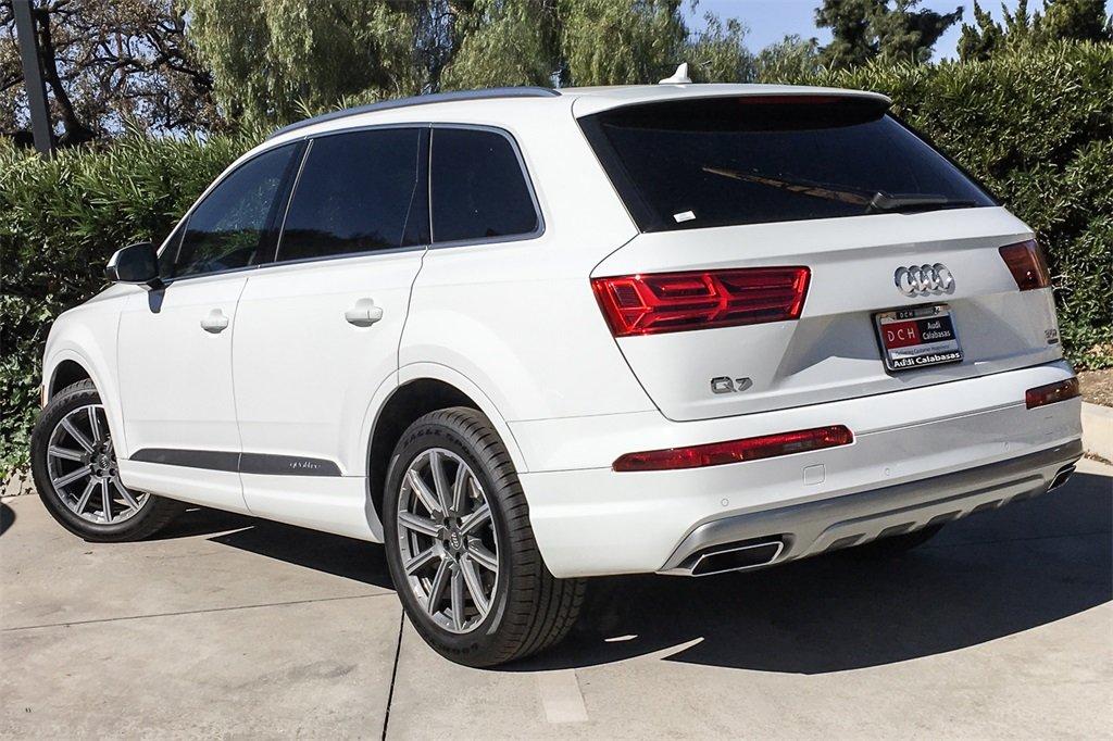 New 2019 Audi Q7 SUV 3 0T Premium Carrara white For Sale in