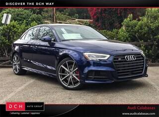 New 2018 Audi S3 2.0T Premium Plus Sedan for sale in Calabasas