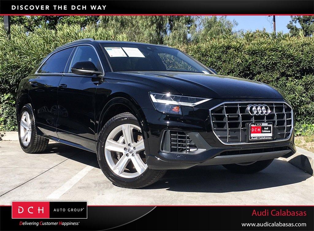 Used 2019 Audi Q8 Suv 30t Premium Night Black For Sale In Calabasas