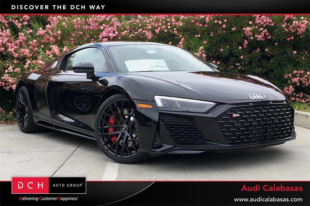 New 2020 Audi R8 Coupe V10 Quattro V10 Mythos Black Metallic For